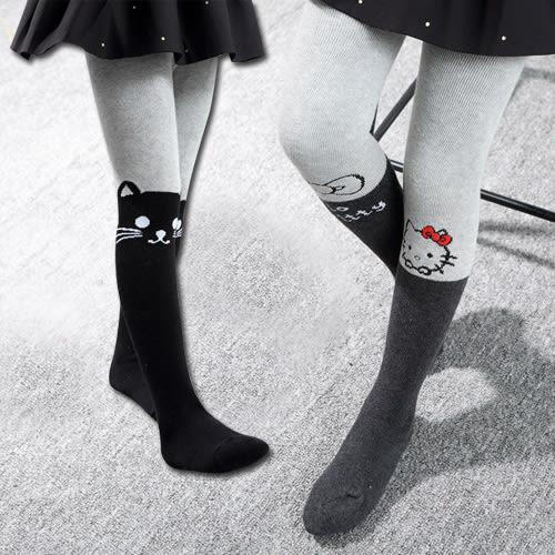 女童寶寶卡通休閒加厚毛巾褲襪襪子。毛巾襪KT / 毛巾襪貓貓