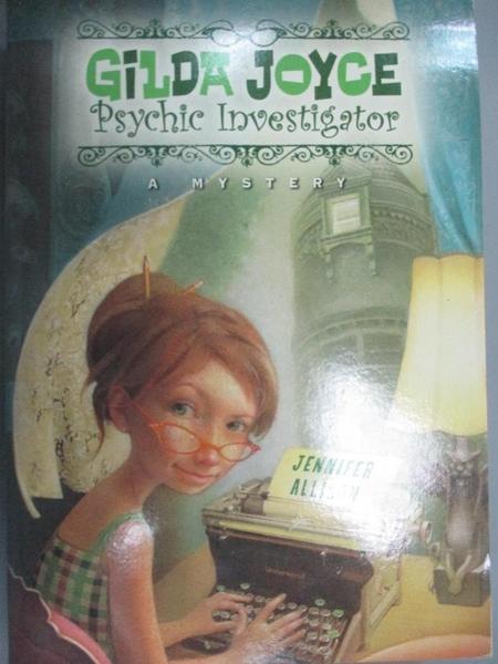 【書寶二手書T2/原文小說_JIU】Gilda Joyce, Psychic Investigator_Allison, Jennifer
