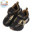 《布布童鞋》Moonstar日本黑金閃電競速兒童電燈機能運動鞋(16~19公分) [ I1N503D ]