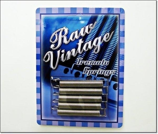 ☆唐尼樂器︵☆ RAW VINTAGE TREMOLO SPRINGS 電吉他搖座彈簧( Fender 等吉他都能使用)