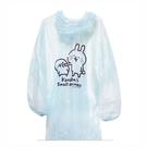 正版 卡娜赫拉的小動物 卡娜 兔兔 P助 輕便型雨衣 成人雨衣 戶外用品 藍色款 COCOS KK200