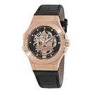 MASERATI WATCH 瑪莎拉蒂手錶 R8821108002 經典大三叉金色機械款 錶現精品 原廠正貨