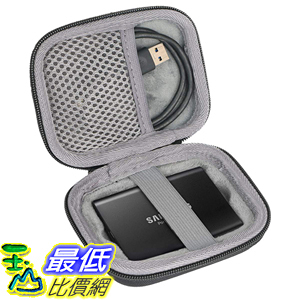[8美國直購] Hard Travel Case for Samsung T3 T5 Portable 250GB 500GB 1TB 2TB SSD USB 3.0 External Solid State