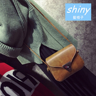 【P150】shiny藍格子-複古造型.可愛迷你特殊造型鎖扣斜挎單肩小包