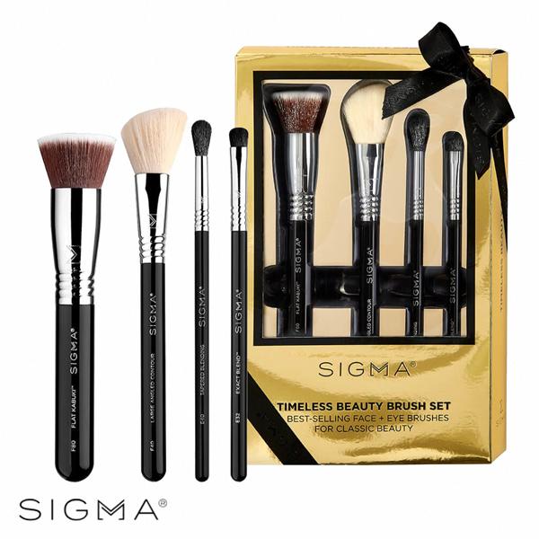 Sigma 2019 璀璨煥顏極致刷具四件組(季節限定禮盒) Timeless Beauty Brush Set - WBK SHOP