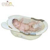 日康嬰兒浴盆寶寶洗澡盆兒童洗浴盆小孩沐浴盆新生兒用品大號加厚
