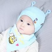 【2枚入】嬰兒帽子男女寶寶純棉胎帽【奇趣小屋】