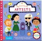 【麥克書店】MY FIRST HEROES: ARTISTS /認識藝術家操作書《主題:人物.藝術.歷史》