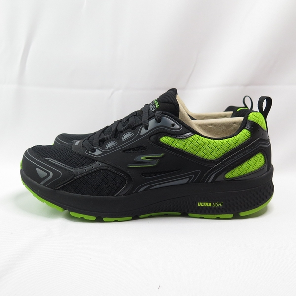 Skechers GO RUN CONSISTENT 男款 慢跑鞋 220081BKLM 黑綠【iSport愛運動】