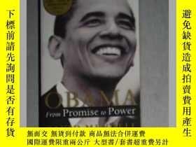 二手書博民逛書店英文原版罕見Obama : From Promise to Po