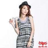 BOBSON 女款兩件背心式無袖上衣(灰23080-08)