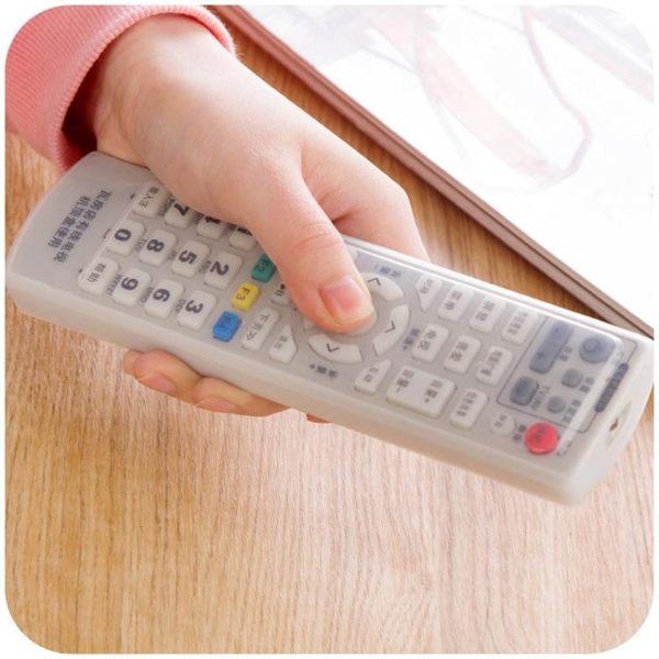 [超豐國際]空調電視遙控器套硅膠遙控器保護套防塵罩遙控板透明遙控套