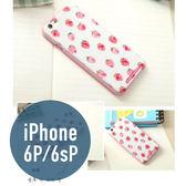 iPhone 6P / 6s Plus 粉邊浮雕 立體浮雕彩繪殼 3D立體 手機殼 保護殼 手機套 保護套