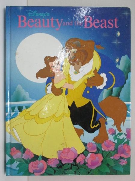 【書寶二手書T1/少年童書_EHX】Beauty and the Beast_美女與野獸_迪士尼出版_英文版