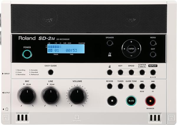 凱傑樂器 贈麥克風 ROLAND SD-2U Recorder錄音機 錄音介面 特價出清 公司貨