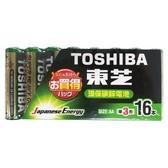 TOSHIBA東芝環保3號電池16入/組【愛買】