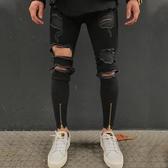 特惠 歐美新款男式韓版彈力修身小腳牛仔褲青年時尚休閑男士牛仔褲
