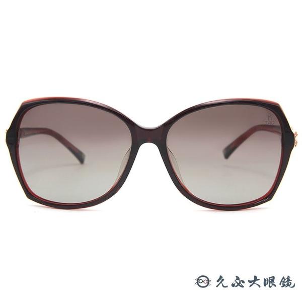 HELEN KELLER 林志玲代言 H8520 P45 (黑) 3D蝴蝶結 偏光太陽眼鏡 久必大眼鏡