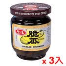 愛之味鮮味脆瓜170g*3罐【愛買】