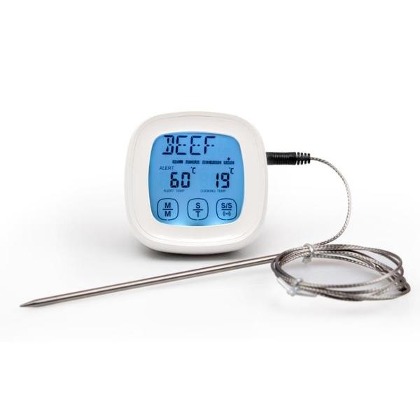 商用報警烤箱溫度計烘焙廚房水溫表油溫 電子食物液體食品測溫儀 宜品居家