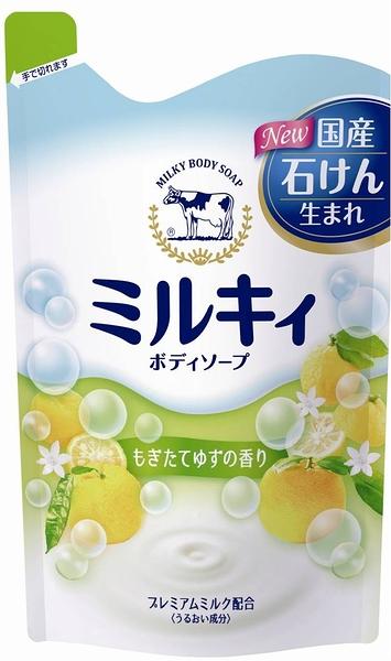 牛乳石鹼精華沐浴乳(補)430ml-柑橘果香