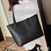 女包新款2019潮 pu大容量單肩包洋氣質感簡約托特包手提包 aj15139『小美日記』