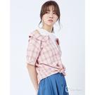 春夏系列注目ITEM 二穿式襯衫可前紮或全放 露肩造型增添個性時尚感 柔軟純棉輕薄質料透氣舒適