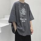 夏季新款短袖T恤男INS潮牌潮流寬松百搭上衣服港風帥氣休閑體恤衫 傑森型男館