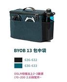 【聖影數位】TENBA 天霸 BYOB 13 CAMERA INSERT 包中袋(不含外套) 黑636-632/藍636-633
