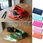 韓國 信封皮夾手機包 零錢包錢包卡包 韓版皮夾 手拿包 旅行收納袋 iphone三星 【RB336】