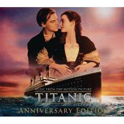 鐵達尼號3D 紀念典藏版CD 2片裝Titanic  Anniversary Edition O S T李奧納多狄卡皮歐