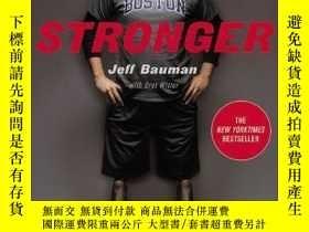 二手書博民逛書店罕見Stronger-更強Y436638 Jeff Bauman; Bret... Grand Central