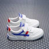 新款回力童鞋兒童帆布鞋男童運動鞋PU皮面板鞋女童布鞋透氣小白鞋【狂歡萬聖節】