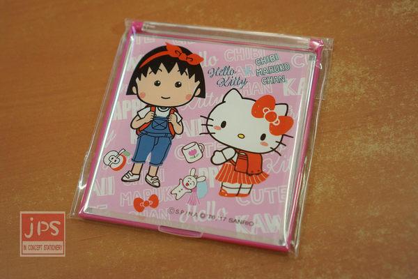 櫻桃小丸子 × Hello Kitty 立鏡 粉