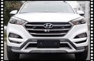 【車王小舖】現代 Hyundai 2016~ Tucson 前後保桿 保護桿 防撞桿 運動款 競技版