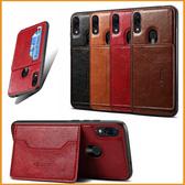 商務插卡9T 小米A3 小米9 小米8 A2 紅米Note7 小米Mix3 紅米7 pocophone F1全包邊軟殼 防摔皮紋手機殼