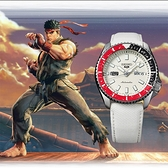 SEIKO 精工 5 Sports x 快打旋風 隆 聯名限量機械錶(SRPF19K1)-42.5mm 4R36-08P0W(贈保護貼+帆布帶)