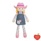 【美國 APPLE PARK】有機棉安撫玩偶 – 農場女孩