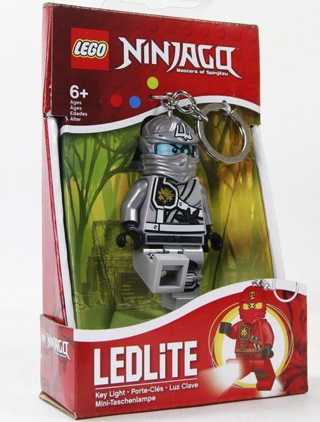 樂高Lego 【灰忍者-贊鑰匙圈 (盒裝)-512194 】含LED燈