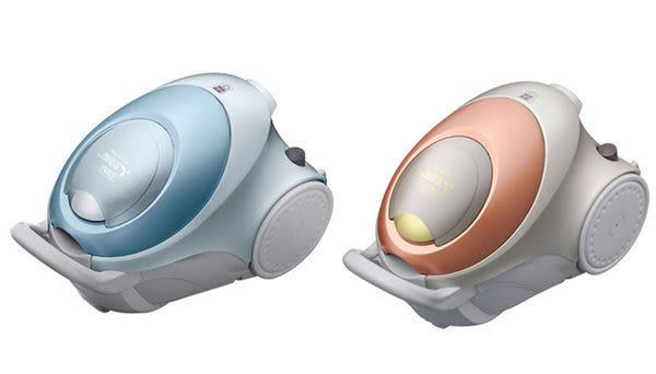 《長宏》MITSUBISHI三菱氣旋式免紙袋吸塵器520W【TC-E128JTW】輕量3.1kg.日本製.可刷卡,免運費~