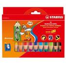 STABILO woody 3in1系列粉10色蠟筆*880/10-2