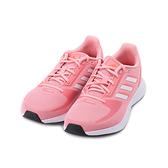 ADIDAS RUN FALCON 2.0 輕量跑鞋 桃白 FZ1327 女鞋