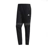adidas 長褲 AL TWILL Pants 黑 白 男款 運動休閒 【ACS】 FJ6764