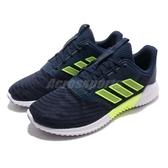 adidas 慢跑鞋 Climacool 2.0 深藍 綠 透氣 運動鞋 男鞋 【PUMP306】 B75872