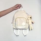 後背包2021新款韓版牛津布後背包女小包潮時尚百搭逛街用小背包休閒書包  迷你屋 新品