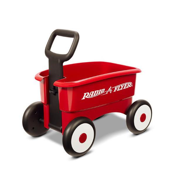 【奇買親子購物網】美國 RadioFlyer 拋物線二合一輕量托車