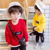 男童長袖套裝兒童衛衣長袖運動兩件套衛褲 qw756『俏美人大尺碼』