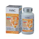 永信HAC 綜合維他命B群+鋅錠90錠/瓶(無異味糖衣錠)