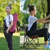 折叠椅 戶外折疊椅火車無座釣魚凳子學生寫生椅子美術便攜專用靠背小椅子 卡菲婭