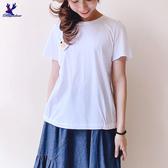 【春夏新品】American Bluedeer - 小鹿花刺繡上衣 二色 春夏新款